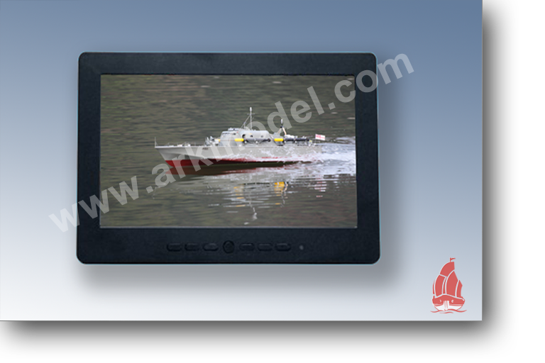 "7""  LCD high-definition displays"